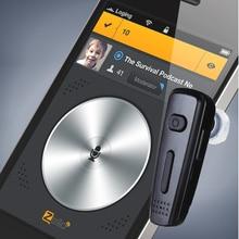 PTT Auricolare Bluetooth Cuffia Senza Fili Per KODIAK ESCHAT Zello App IOS E Android di Sostegno Su ptt sopra il telefono cellulare (poc) app