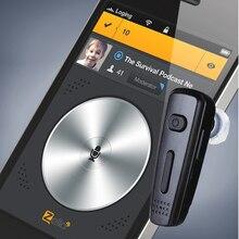 PTT Oreillette Bluetooth Sans Fil Casque Pour KODIAK ESCHAT Zello Application IOS Et Android Soutien ptt sur téléphone portable (poc) application