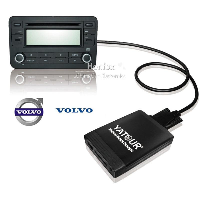 Yatour YT-M06 Car digital music changer for Volvo HU-xxx x70 vc70 c70 s40 s60 s80 v40 with USB SD AUX adapter BT Interface пылесос alligator al vc70