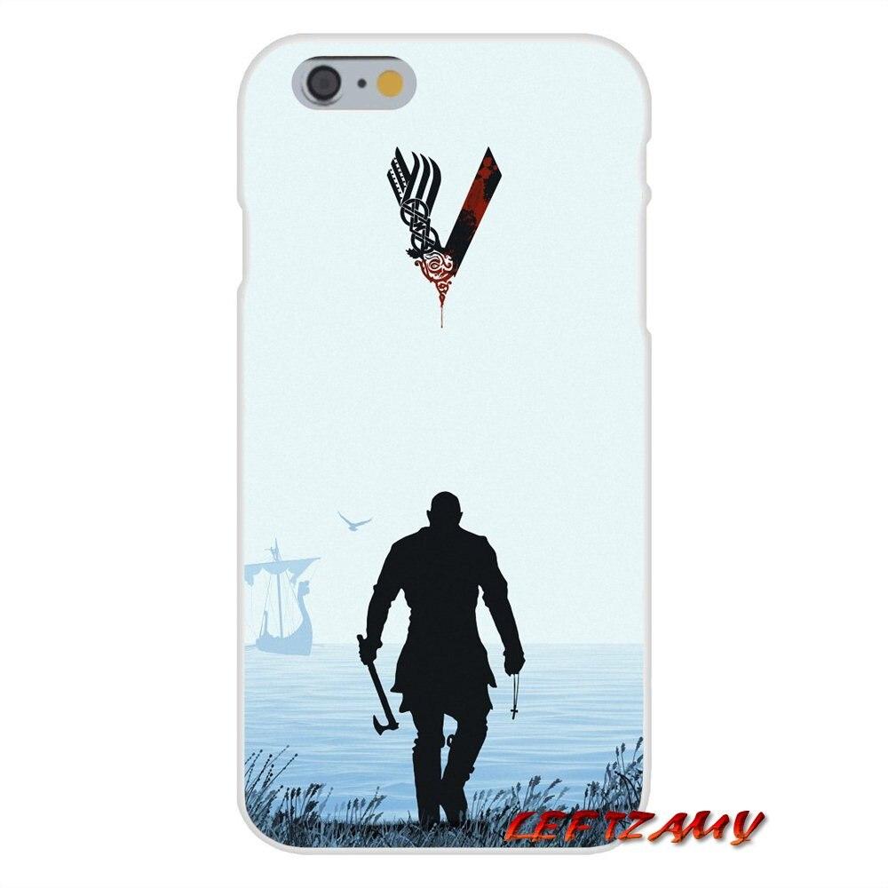 For Motorola Moto G LG Spirit G2 G3 Mini G4 G5 K4 K7 K8 K10 V10 V20 V30 Transparent TPU Cases Covers Vikings Ragnar Vikings Logo