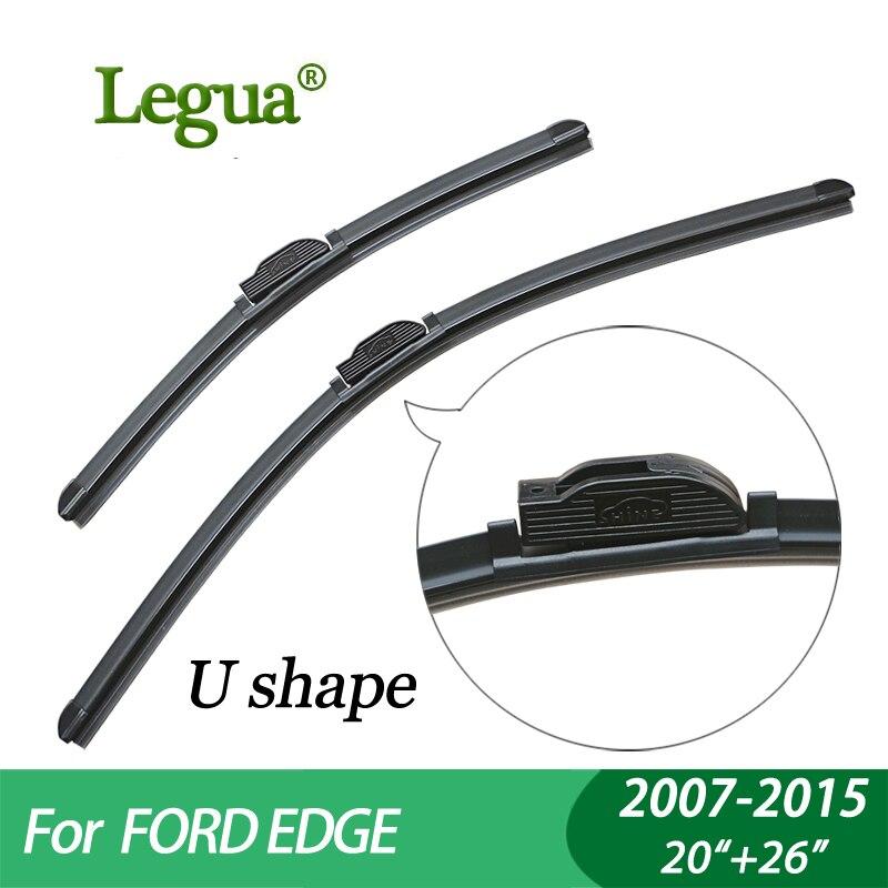 Legua Wiper Blades For Ford Edge Car Wiperboneless Windscreen Wiper Car Accessory In Windscreen Wipers From Automobiles