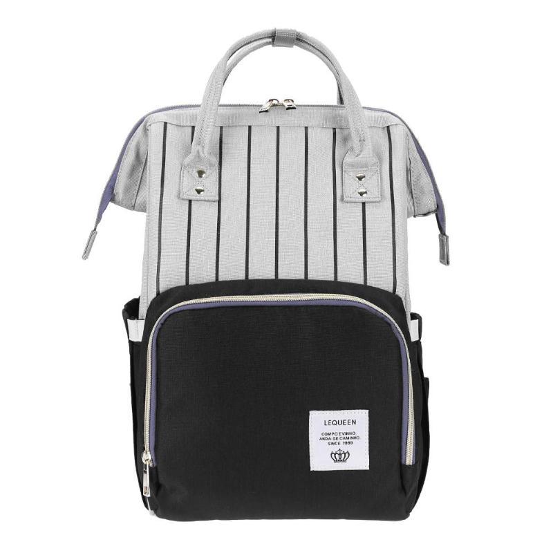 HTB1HSOoKeuSBuNjSsplq6ze8pXaA LEQUEEN Fashion USB Mummy Maternity Diaper Bag Large Nursing Travel Backpack Designer Stroller Baby Bag Baby Care Nappy Backpack