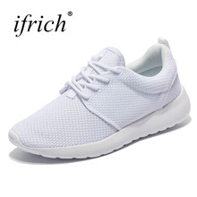 Mens Jogging Walking Shoes Comfortable Black White Men Sport Sneakers Mesh Breathable Boys Running Cheap