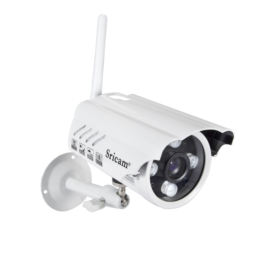 ФОТО White Sricam Waterproof HD 720P IP Camera Mobile Phone Remote Monitor Home Security Infrared Camera Outdoor
