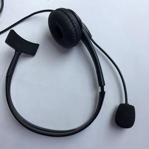 Image 5 - walkie talkie Mic PTT headset TK port wireless two way radio headset for uv 82 bf 888s UV 5R walkie talkie