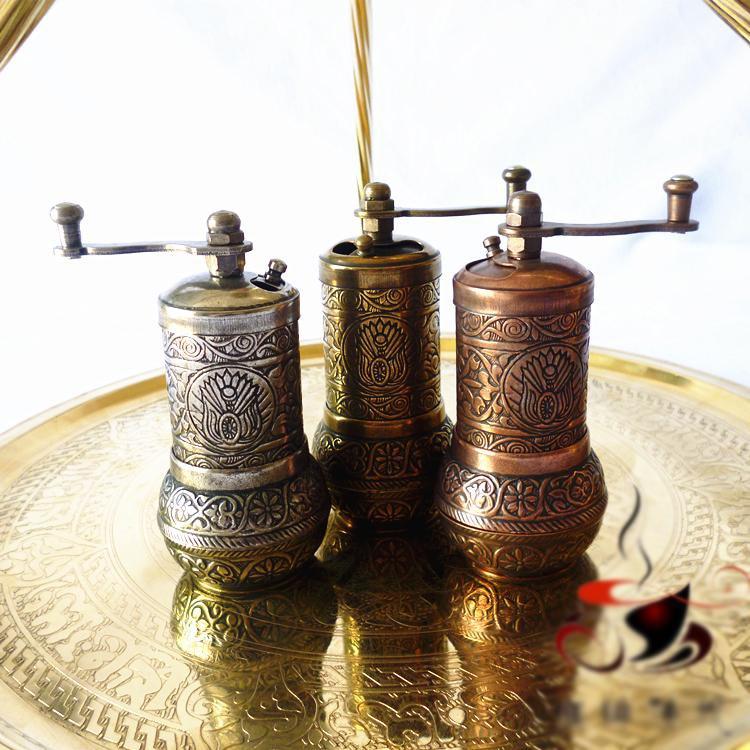 Authentic Turkish manual coffee grinder all metal mini special small spice grinding equipment vasque ботинки snowburban ud 7802 7 turkish coffee russet orange medium