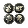 Cool Punisher Car Steering tire Wheel Center car sticker Hub Cap For Subaru Forester Outback Lmpreza Legacy Tribeca XV