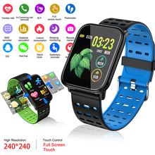 LIGE Fitness Smart Bracelet Men IP67 Waterproof Watch Blood Pressure Heart Rate Monitor Sport Smart Watch Women For Android ios lige new man smart sports bracelet women waterproof fitness watch blood pressure heart rate monitor smart watch for android ios