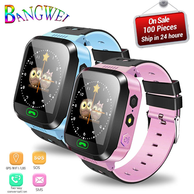 2019 New Kids Smart Watch For 2G/3G/4G Sim Card Children's Watch With Bluetooth HD Camera LBS Tracker SOS Call Security Warning