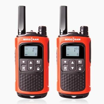 PMR 446 License-free Walkie Talkies Scocotran Rechargeable 2 Way Radio 8 Channels Scan VOX Ham Radio Portable mini Walkie Talkie