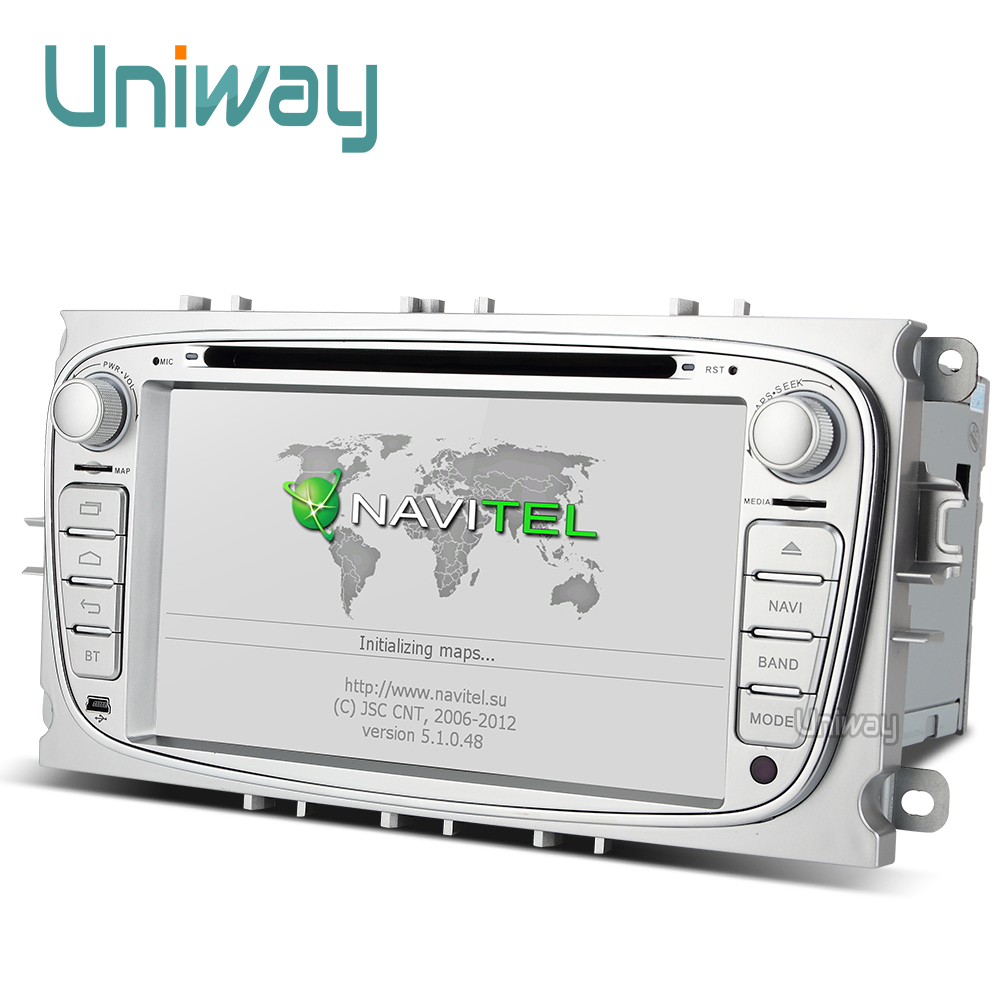 uniway 2G+32G android 7 1 car dvd for focus ford mondeo ford