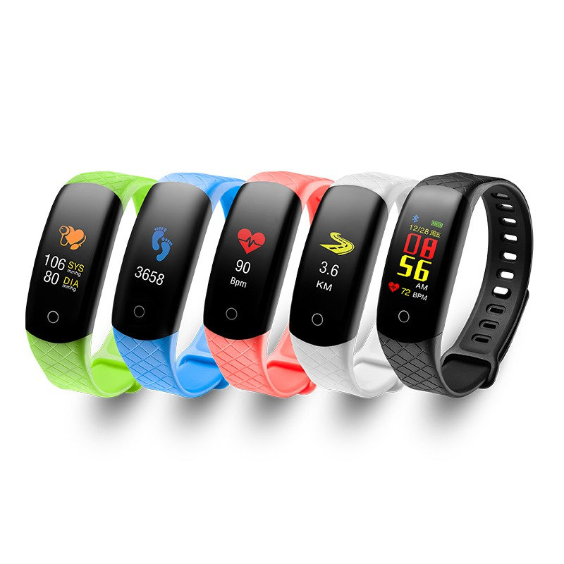 2019 Neuer Stil Cb608 Blutdruck Blut Sauerstoff Intelligente Herz Rate Armband Wasserdichte Schritt Schlaf Überwachung Sms Display Smart Armbänder Fitnessgeräte