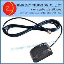 SB-CA118-SMA-3M 40pcs*High Quality Active Outdoor External Waterproof GPS Ceramic Patch Car Magnetic 1575.42MHz Antenna SMA