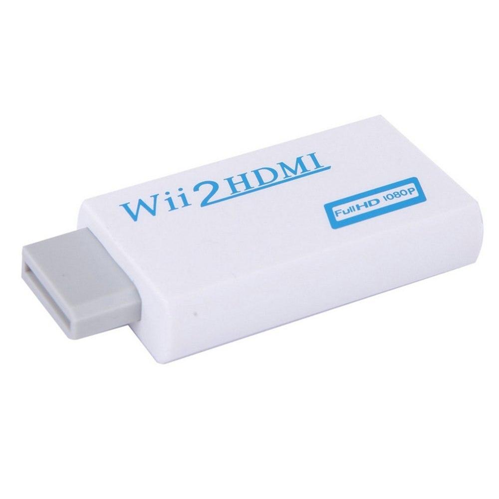 Wii para HDMI Conversor Adaptador Com 3.5 milímetros de Áudio Jack e Saída HDMI Suporta Todos Os Modos de Exibição de Wii 720/ 1080 P Para HDTV Monitor
