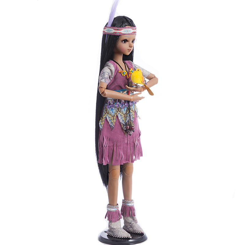 Princess Anna bjd doll sd 60 cm 1 3 doll tan girl toys bebe reborn collection in Dolls from Toys Hobbies