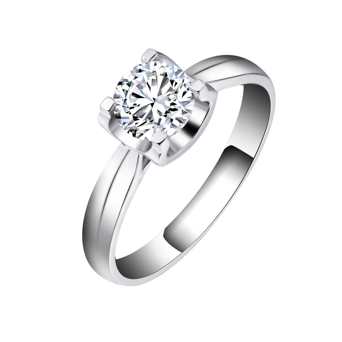 giant wedding ring Chrissy s simple well relatively wedding bands surround her huge cushion cut diamond