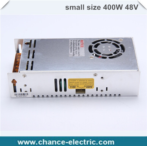 (MS-400-48) IP20 Constant voltage 400W AC to DC 48V small volume Switching power supply 48v dc power supply 400w