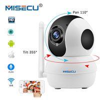 MISECU Smart Mini Pan Tilt IP Cameras WiFi 1080P Indoor Dome Camera IP Wireless Two Way