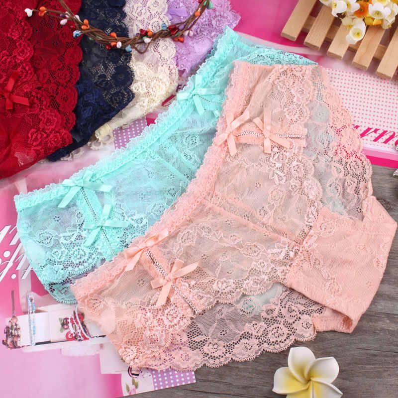 c388b3faff Detail Feedback Questions about Sweet bowknot girls underwear lace ...