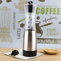Electricity Powered Operation Salt and Pepper Mill Stainless Steel Arcylic Cooking Tool Sets Spice Grinder