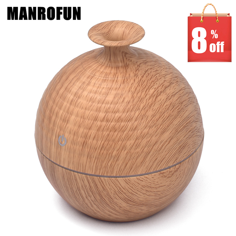 MRF-016 USB 130ML Essential Aroma Oil Diffuser ABS Ultrasonic Air Humidifier Home SPA Purifier Atomizer aromatherapy auto