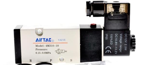 AirTac new original authentic solenoid valve 4M310-10 AC220V [sa] new original authentic special sales keyence sensor pz 42 spot