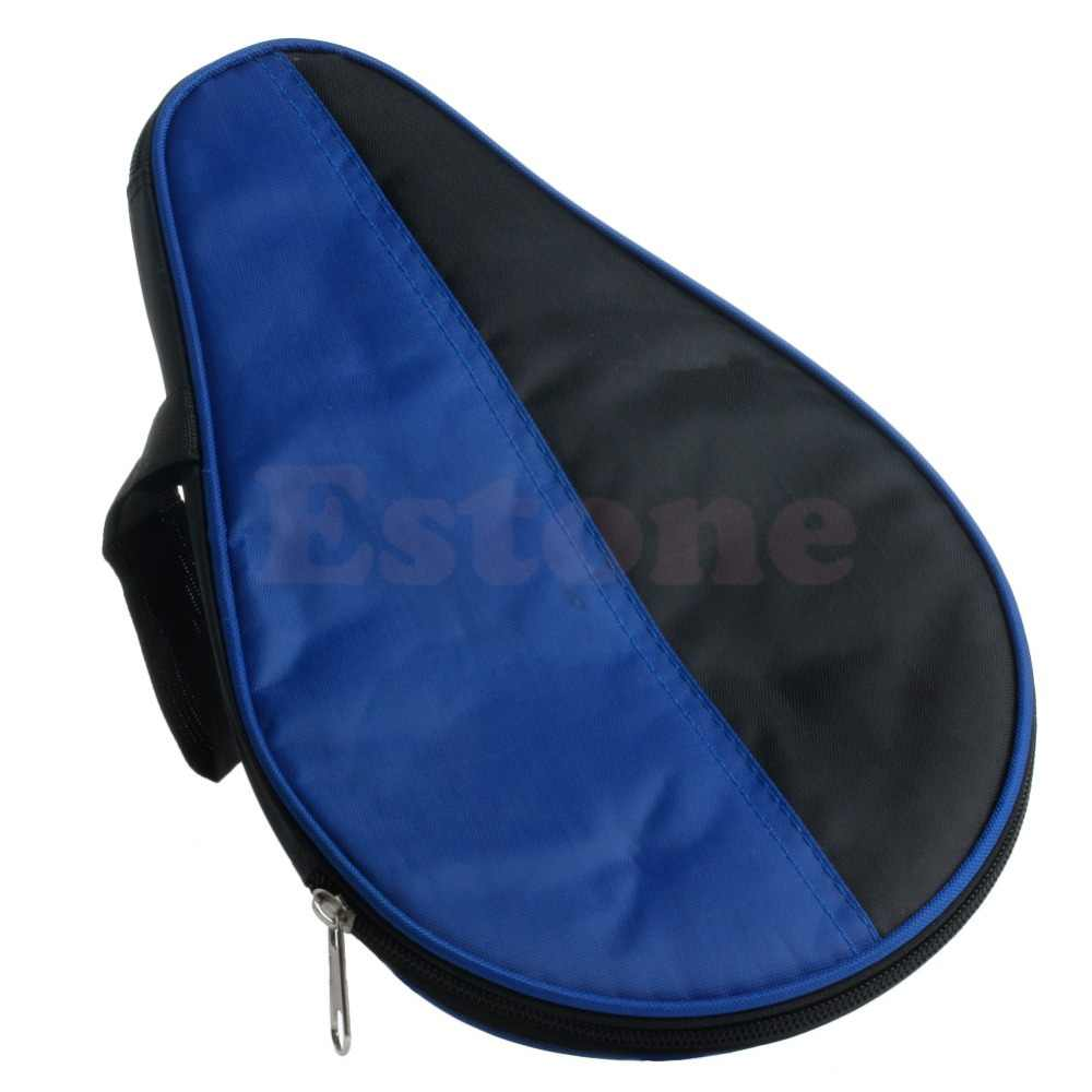 Portable Waterproof Table Tennis Racket Case Bag For Ping Pong Paddle Bat New