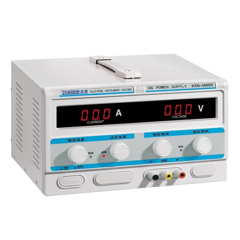ZHAOXIN KXN-3060D 1.8KW Big Power 30V 60A LED Adjustable DC Power Supply High power Switch dc power supply dc regulated