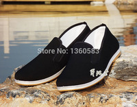 Free Shipping Bruce Lee Vintage Chinese Cotton Shoes Kung Fu Wing Chun Shoes Martial Art Jeet