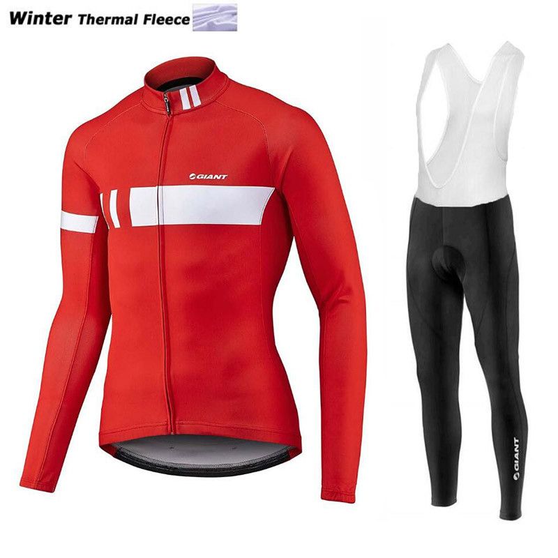 ФОТО  Pro Cycling Team Men's Winter Thermal Fleece Cycling Jersey Long Sleeve Tour De France Cycling Jacket Cycling Clothing Winter #