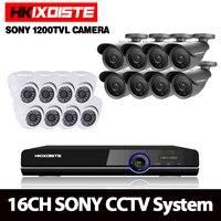 HD 16 каналов 1080 P AHD 3 г Wi Fi видеорегистратор комплект видеонаблюдения SONY открытый закрытый системы камеры видеонаблюдения 16CH DVR система