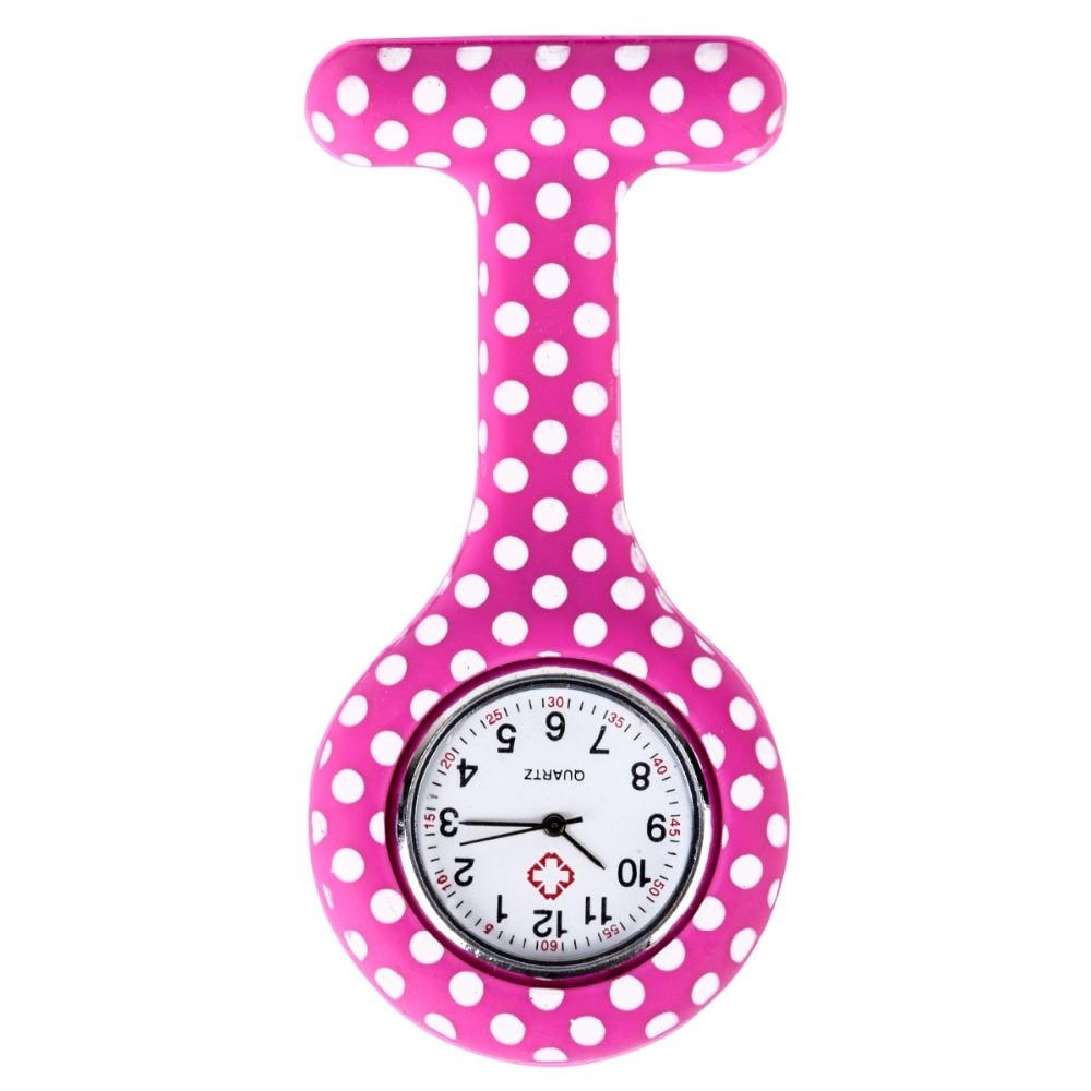 Shellhard Fashion Prints Kolorowe zegarki pielęgniarek Przenośny - Zegarki kieszonkowe - Zdjęcie 6