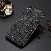JDBLE Original Luxury 3D Cowhide Crocodile Skin Hard Shell Cover Case Genuine Leather Phone Case For