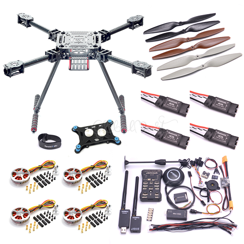 ZD550 ZD 550 550mm Carbon fiber Quadcopter Pixhawk PX4 PIX 2 4 8 Flight Control set