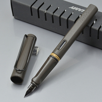 Luxury Lamy Brand Charcoal Colors Fountain Pen Stationery School Office Supplies Classic Writing Ink Pens For