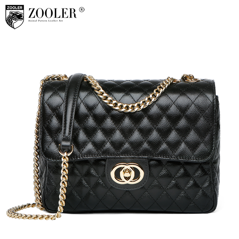 Store special bag 2018 !LIMITED! promote woman bag! ZOOLER genuine leather bag royal elegant shoulder bags bolsa feminina #B193