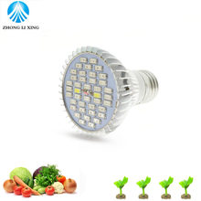 1pcs E27 28W 40W Led Grow Light full spectrum AC85-265V Leds Hydroponic LED Plant Indor Grow Lights LED Bulb LED Growth Lamp(China)