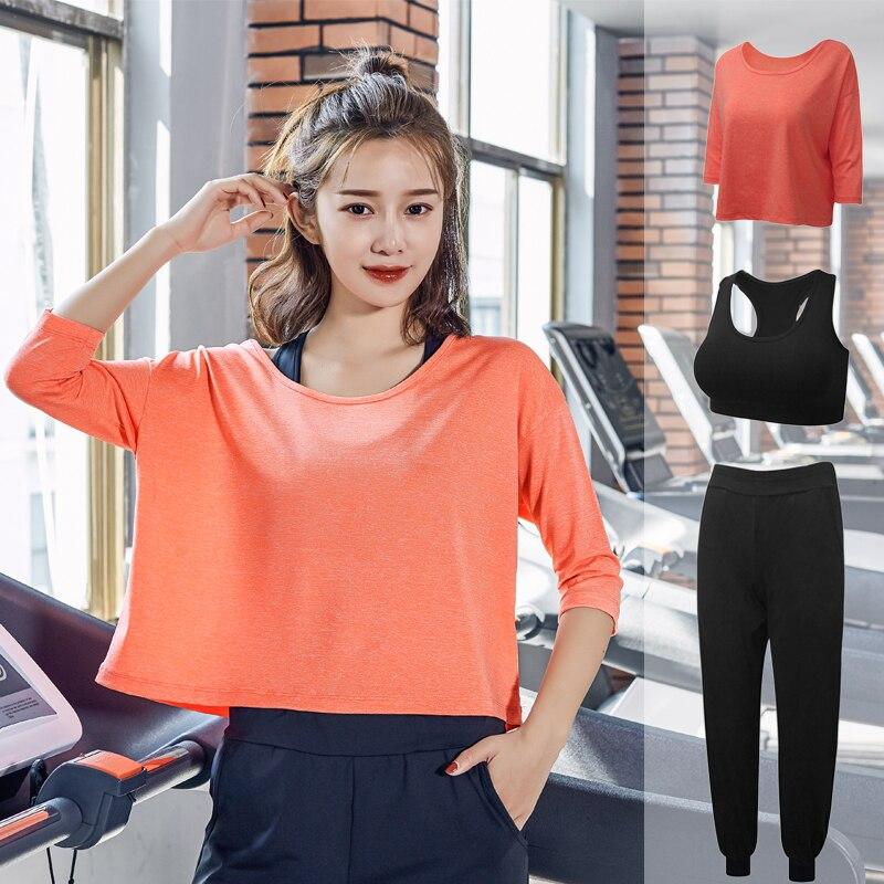2019 nouvelle vêtements pour femmes gym yoga ensemble costume femmes costume sportwear pour remise en forme ensemble de remise en forme body