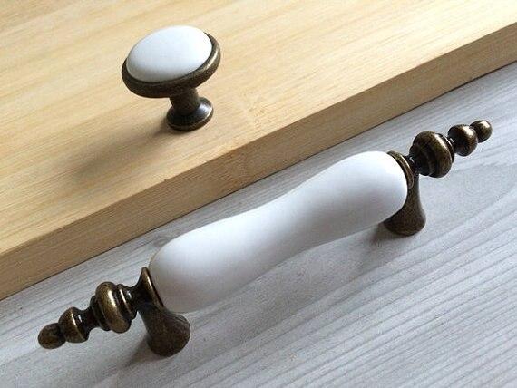 Antique Bronze Cabinet Pulls