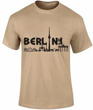 Berlin City Tour Tourist Graphic Printed Cool Deisgn German Country T-shirt New T Shirts Funny Tops Tee free shipping
