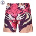 Mr.1991INC Summer beach shorts men 3d digital print Ferocious tiger lovely casual shorts short pants