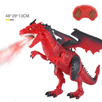 Remote Control RC Dragon Walking Dinosaur Toy with Light Sound Kids Toy Gifts 998