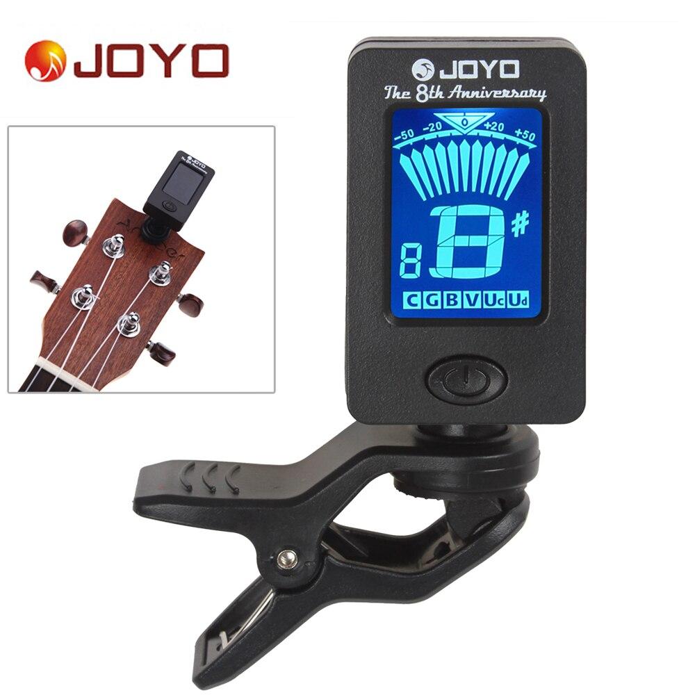 buy joyo mini clip on lcd digital guitar tuner 360 degree rotatable for bass. Black Bedroom Furniture Sets. Home Design Ideas