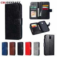 CBL For Samsung Galaxy J3 J4 J6 J8 2018 Multifunctional Flip Wallet Leather Case For Samsung J3 J5 J7 2017 Cover 9 Cards Slot
