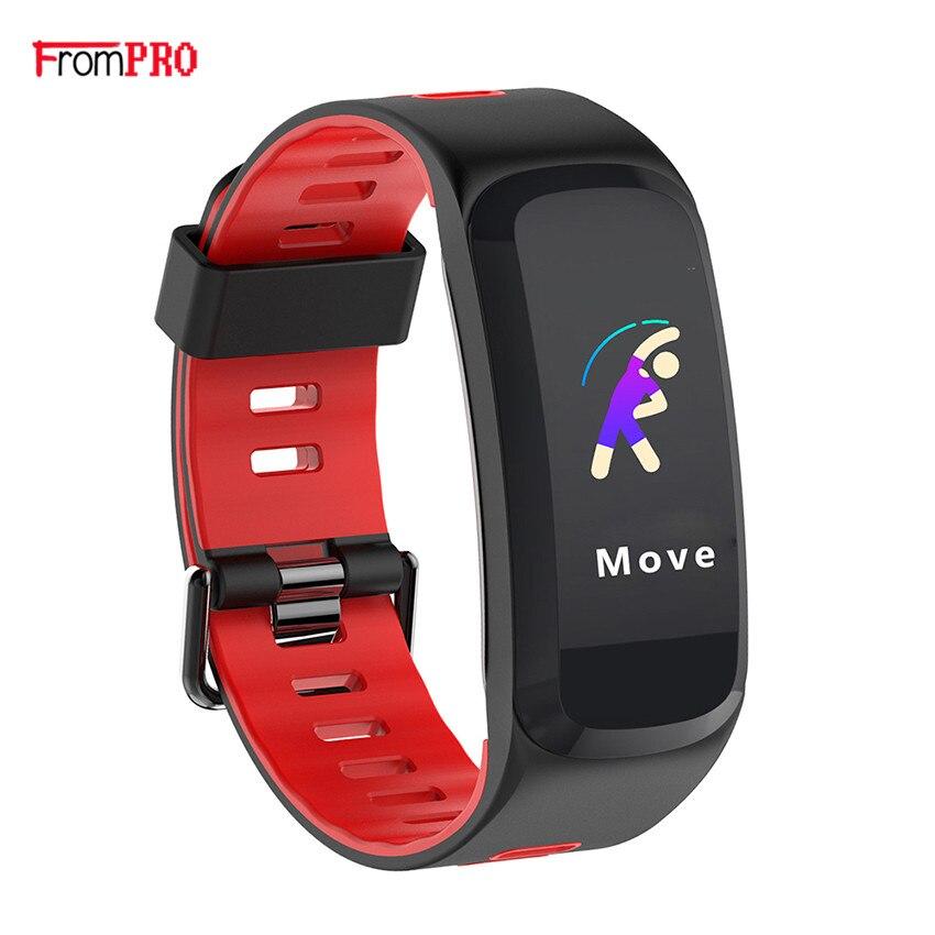 Smart Band F4 Smart armband Herz rate tracker blutdruck sauerstoff Fitness armband IP68 Wasserdichte GPS UV Anruf smart watch