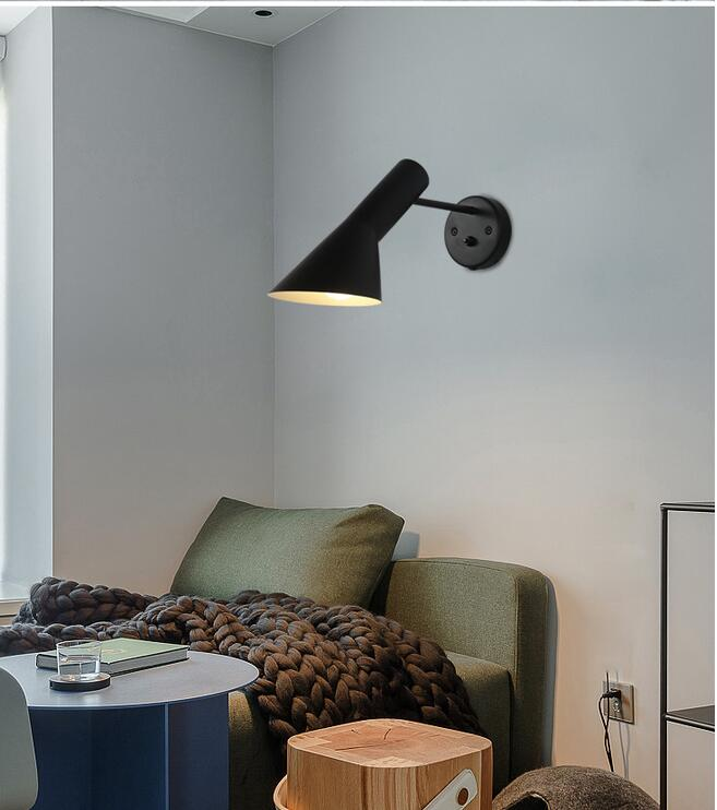Modern Sconce Lighting Wall Mounted Bedside Reading Light ... on Wall Lighting For Living Room id=88667