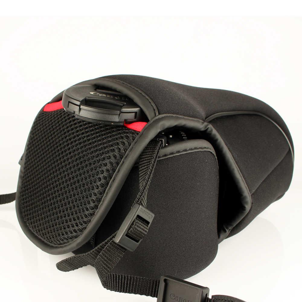 Wennew камера xl сумка Мягкий чехол посылка для цифровой однообъективной зеркальной камеры Canon EOS 5D Mark IV II III 800D 80D 6D MarkII 5D3 5D4 6D 6D2 6D 77D 70D 60D 5DS R