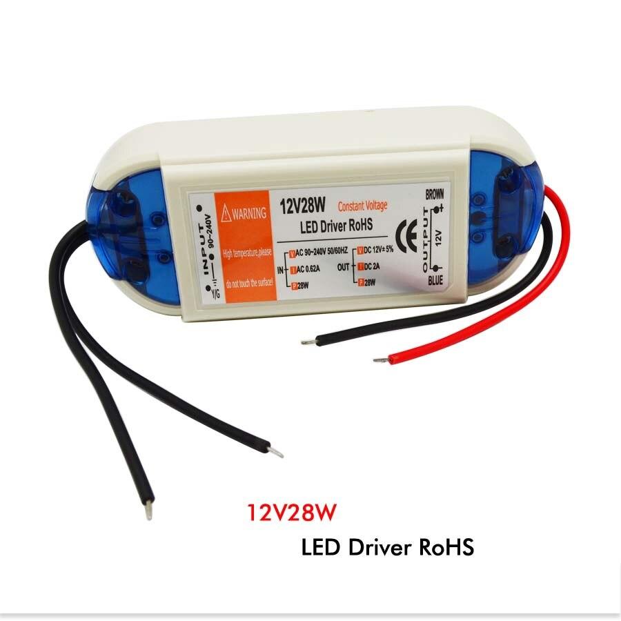 1 pcs DC12V 18 fonte de Alimentação Led Driver w/28 w/48 w/72 w/100 w Adaptador Interruptor Transformador para Tira CONDUZIDA Luz de teto lâmpada de Iluminação
