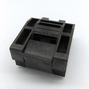 Image 2 - QFP32 TQFP32 LQFP32 раскладушка штырьковый шаг 0,8 мм сгорание в розетке стандартная тестовая розетка программатор адаптер конверсионный блок