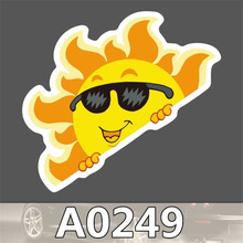 A0249 Spoof Anime Punk Cool Sticker for Car Laptop Luggage Fridge Skateboard Graffiti Notebook Scrapbook Scooter Stickers Toy